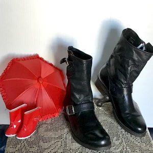 Supple Italian Leather Frye Mid Calf Boots. Sz 11B